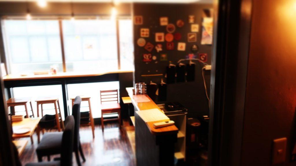 2階の雰囲気。DevilCraft(デビルクラフト)神田 photo by 茶子(ちゃこ)