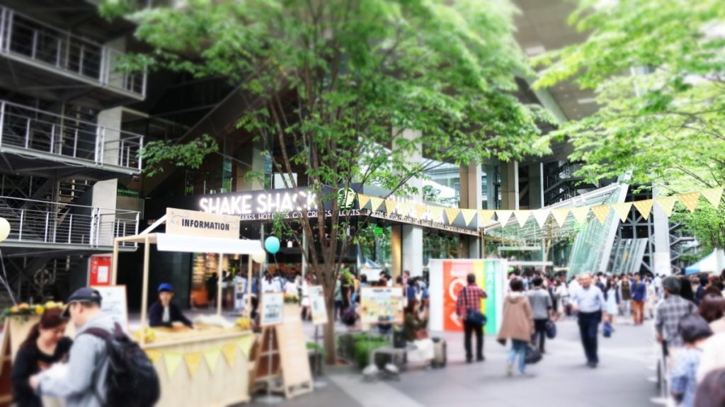 東京国際フォーラム前で開催されたヨーグルトフェスの様子(中) photo by 茶子(ちゃこ)