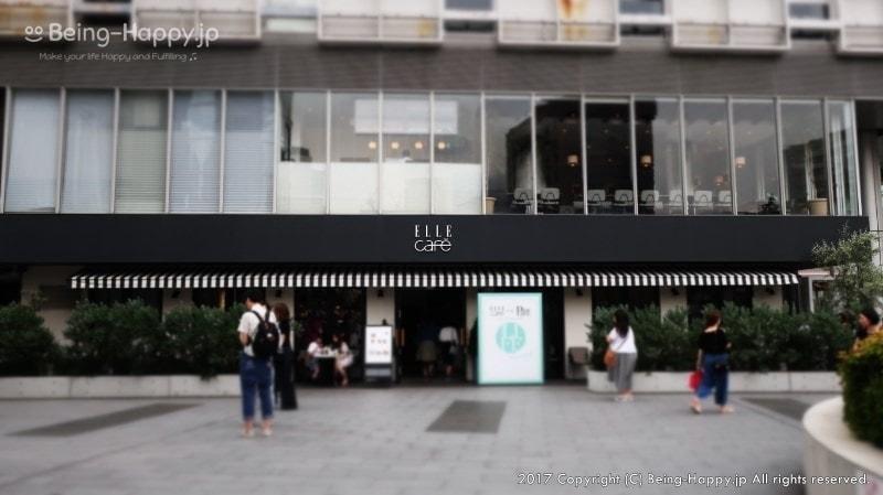 青山ファーマーズマーケット隣にあるフレンチカリフォルニア料理の ELLE cafe Aoyama