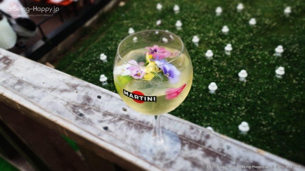 ヒビヤガーデン(日比谷公園)で飲んだマティーニガーデンロワイヤル