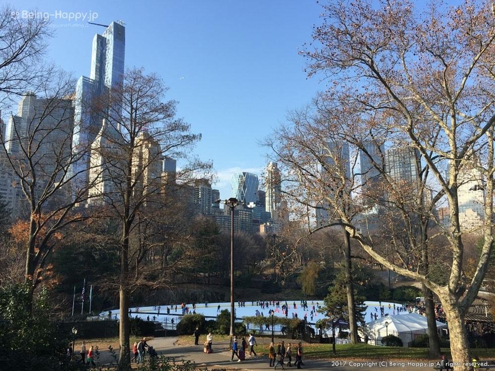 ニューヨークへ行ったときに撮った写真ー広大なセントラルパーク - 都会のジャングルに囲まれたオアシス