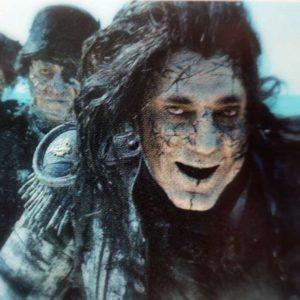 ジャック・スパロウに復讐の怨念を燃やすキャプテン・サラザールの写真