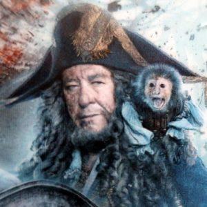 伝説の海賊の1人、バルボッサ