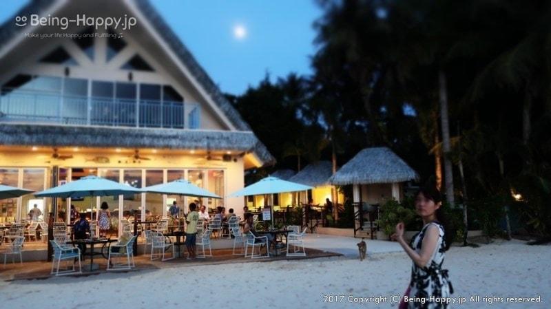 2016年にオープンしたばかりのレストラン サーフクラブ