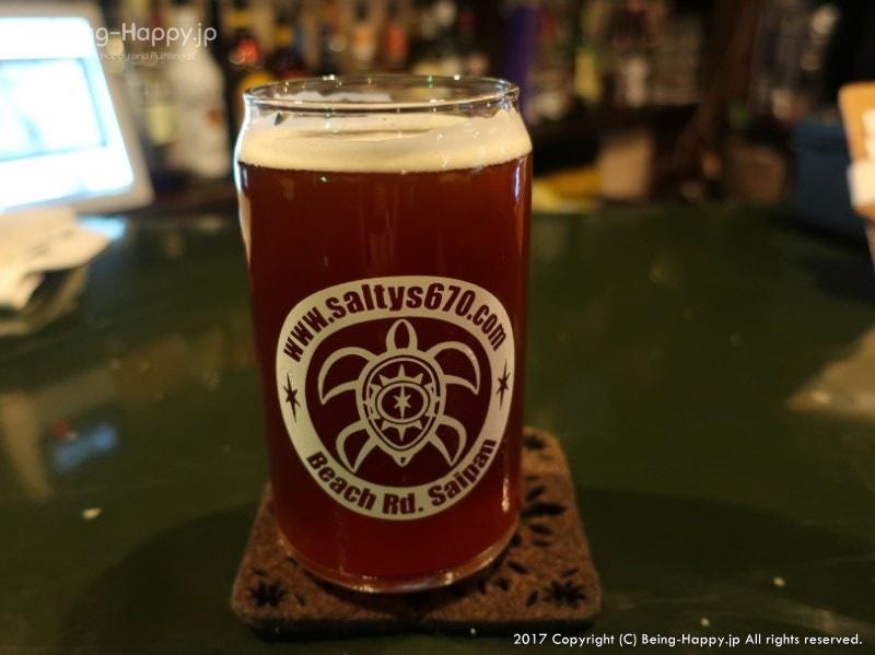 ソルティーズでIPAビール