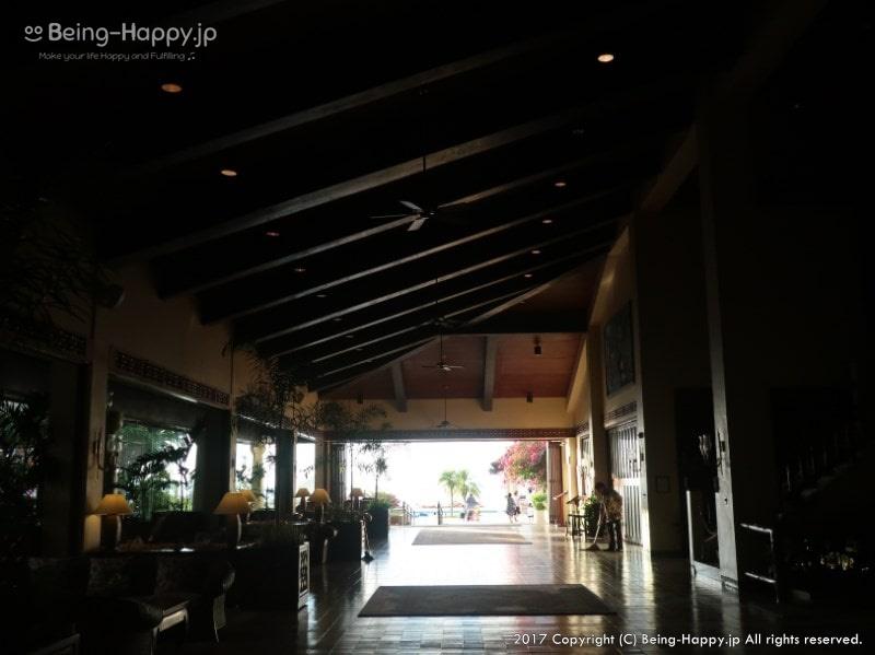 コスタテラスレストラン(@ホテル アクアリゾートクラブ サイパン)へ向かう途中