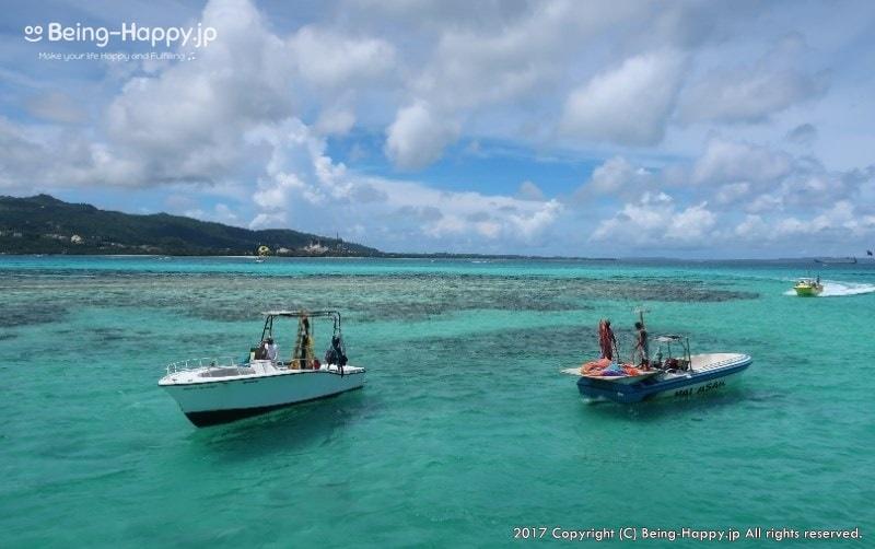 マニャガハ島海と船