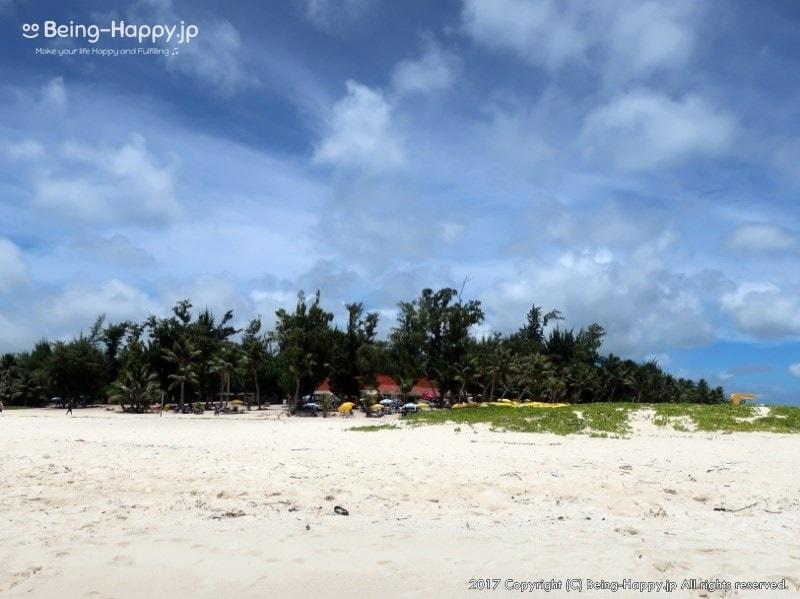 マニャガハ島についた瞬間