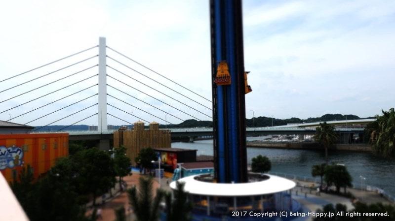 横浜・八景島シーパラダイスの絶叫アトラクション
