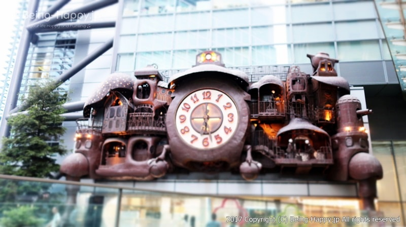 日テレの大時計 photo by 茶子(ちゃこ)