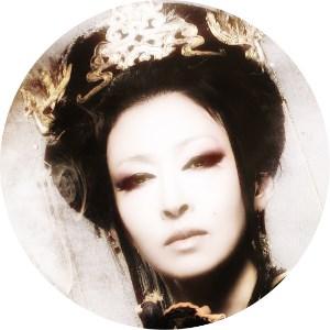 極楽太夫(ごくらくだゆう)を演じた松雪泰子のアップ