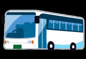 迎えのバスのイメージイラスト