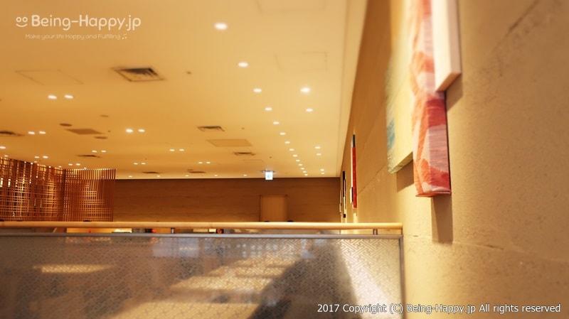 自然食ビュッフェレストラン はーべすと ー案内されたテーブルー落ち着いた内装