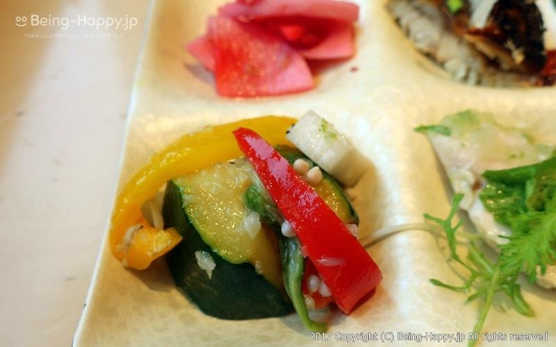 胡瓜・パプリカ・山芋のピクルス