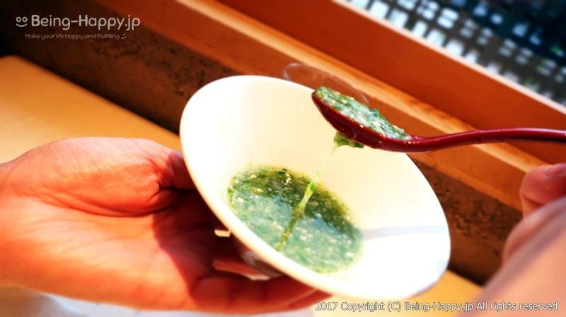 自然薯のスープ