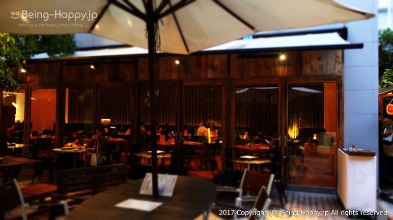 テラスから@code kurkku(コードクルック)at 代々木ビレッジ VILLAGE photo by 茶子(ちゃこ)