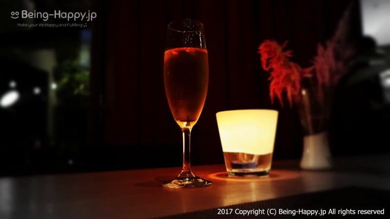 スパークリングワインで乾杯@code kurkku(コードクルック)at 代々木ビレッジ VILLAGE photo by 茶子(ちゃこ)