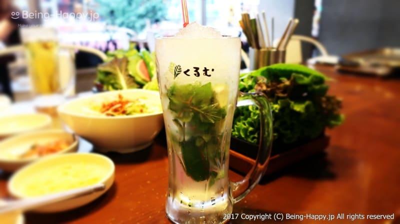 韓国焼肉くるむのカクテル photo by 茶子(ちゃこ)