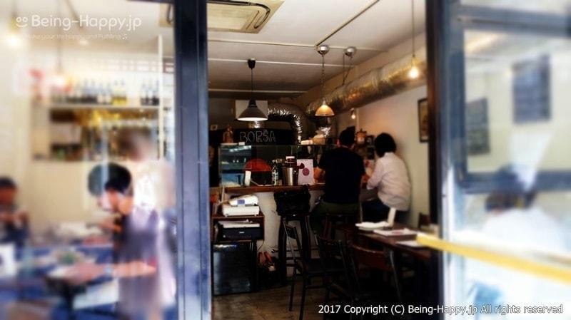 PIZZA BORSA(ピッツァ ボルサ) 入り口 photo by 茶子(ちゃこ)