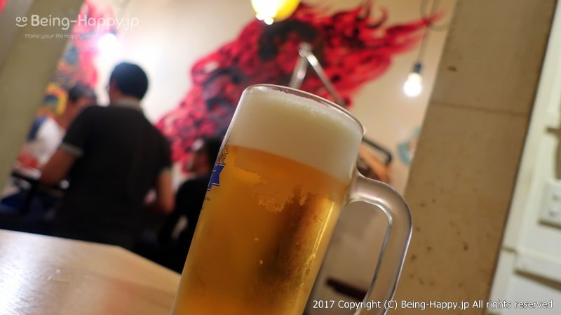 くりから中井店 ビール