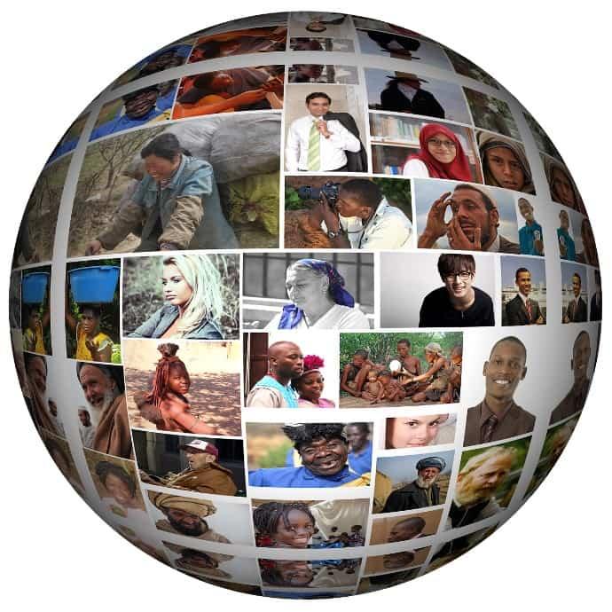 世界中に素晴らしい写真が溢れているイメージ画像