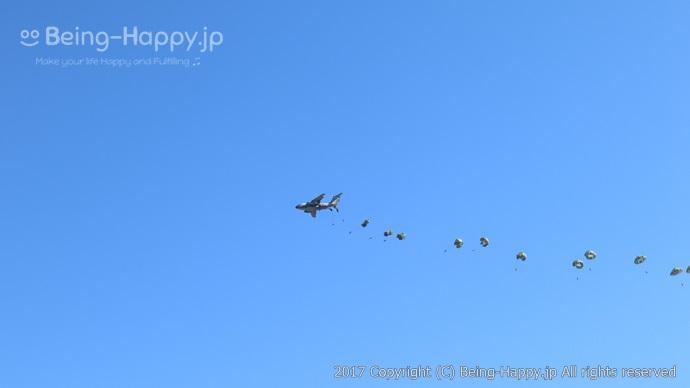 パラシュート飛行(2)