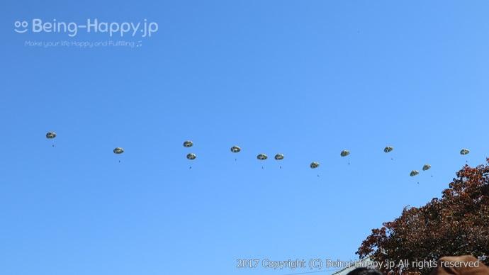 パラシュート飛行(3)