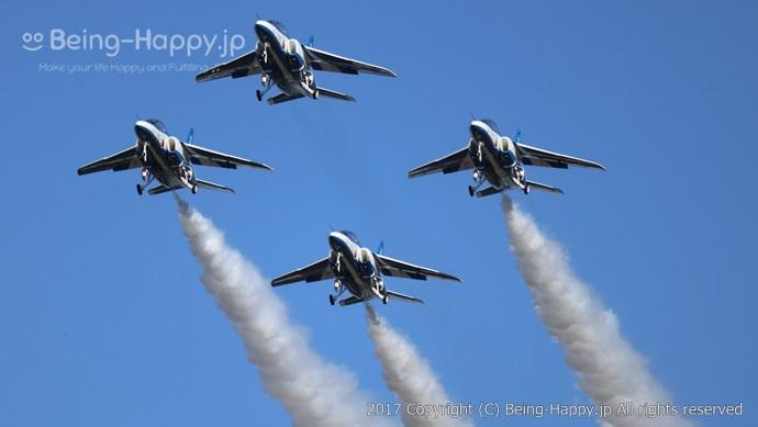 ブルーインパルスーアクロバット飛行