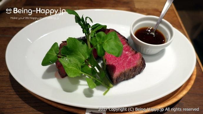 黒毛和牛熟成肉グリルステーキ