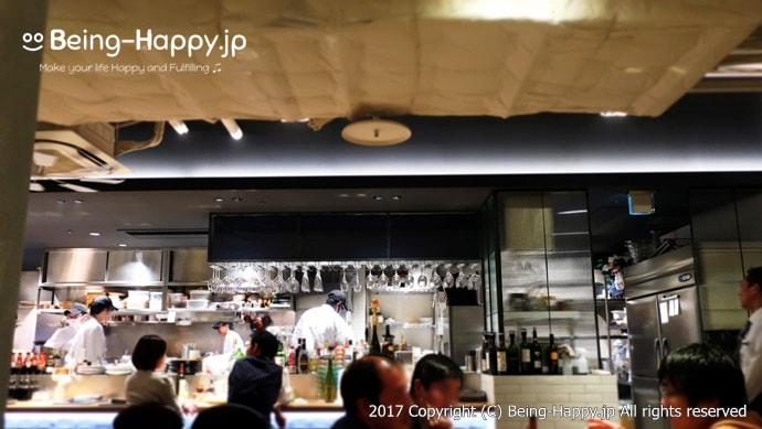 エイジング・ビーフ(Aging Beef)TOKYOのオープンキッチン