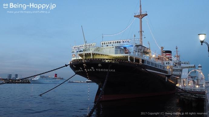 重要文化財 日本郵船「氷川丸」