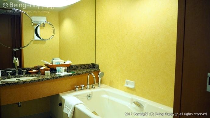 横浜ベイホテル東急のゲストルーム(バスルーム)
