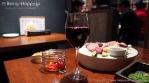 原価ビストロBAN - 赤ワインと肉盛り合わせ