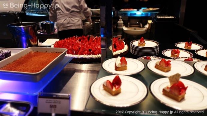 イチゴのビッグタルト