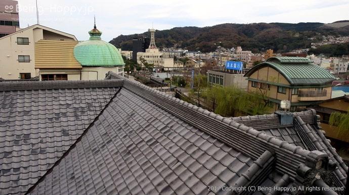 望楼から見た景色