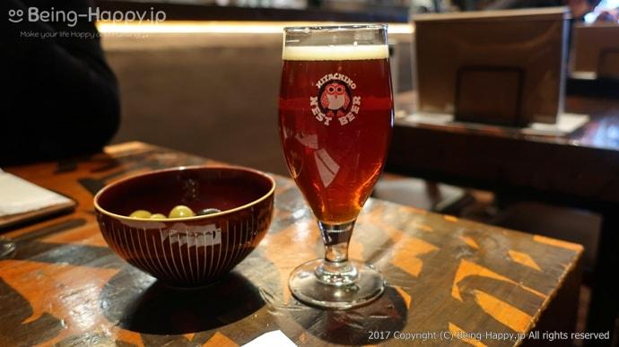 常陸野ブルーイング・ラボのドラフトビール