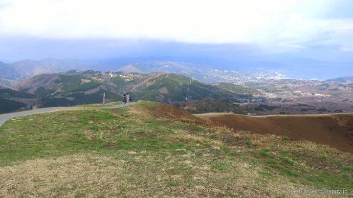 大室山の遊歩道