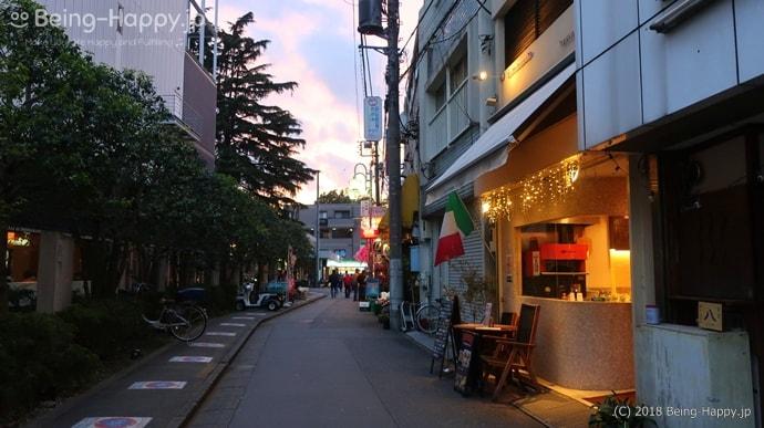 大江戸線の豊島園駅からとしまえんまでの道
