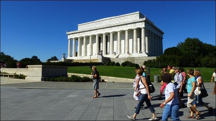 ワシントンDC リンカーン記念堂