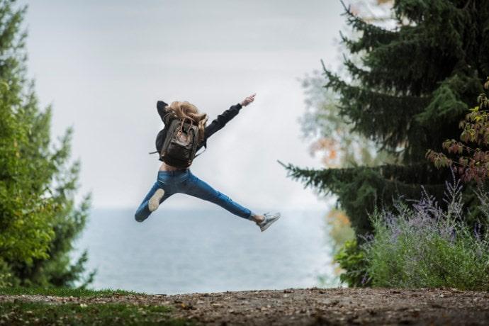 弱点を克服 -ジャンプ