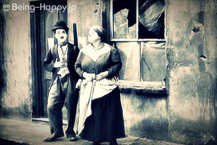 チャップリン映画 1921年『キッド』The Kid