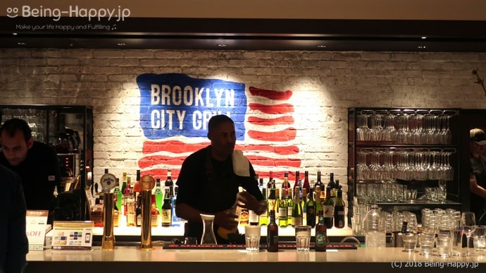 BROOKLYN CITY GRILLのカウンター