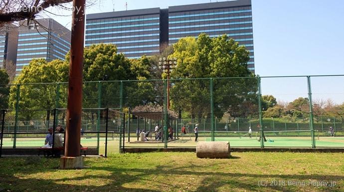 日比谷公園 テニスコート