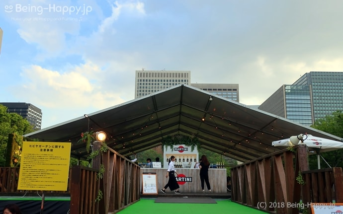 日比谷公園イベントの様子
