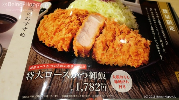 とんかつ和幸 - ロースカツ御飯