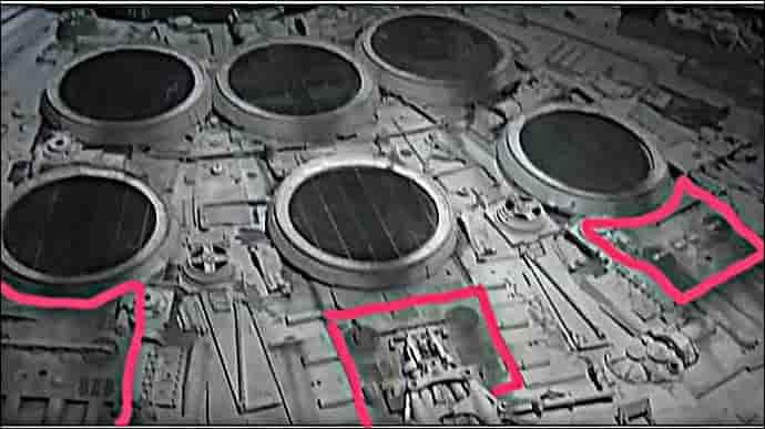 ミレニアムファルコンに戦車が使われている写真