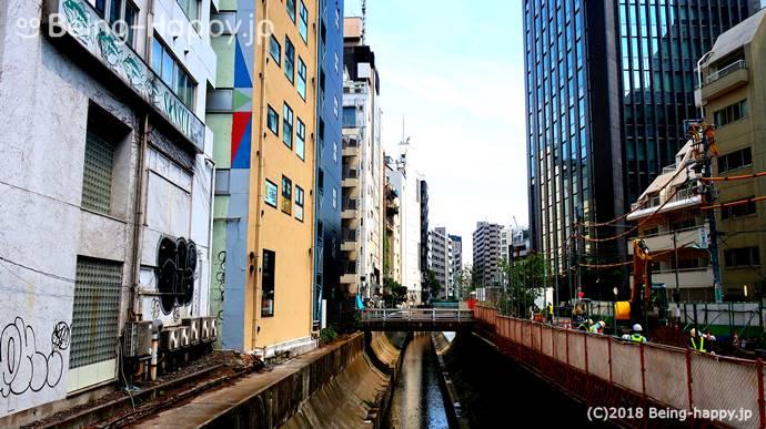 汚い渋谷川