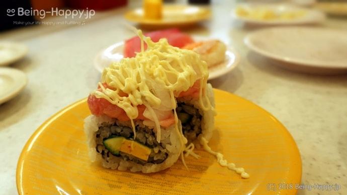 かっぱ寿司-まぐろたたきアボカドロール
