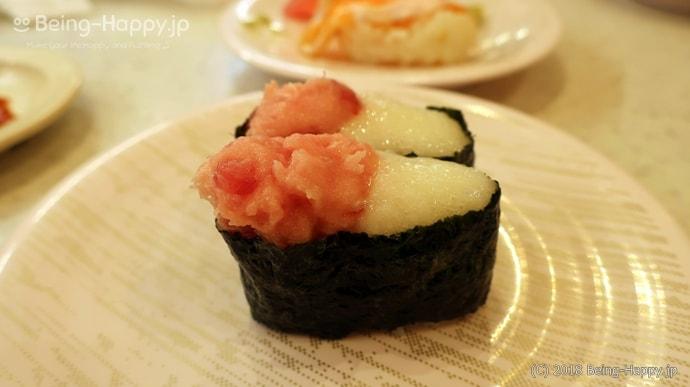 かっぱ寿司-山かけマグロ