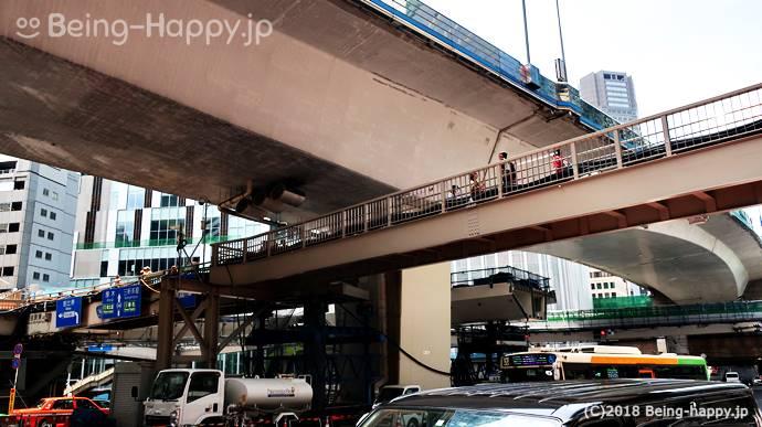 渋谷ストリームへの導線